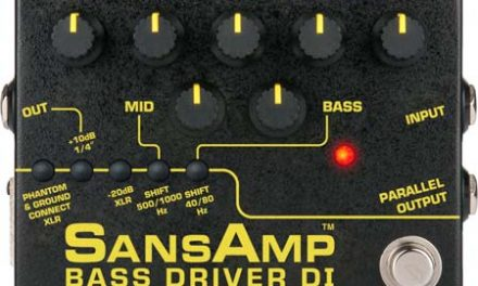 SansAmp – Bass Driver Version 2