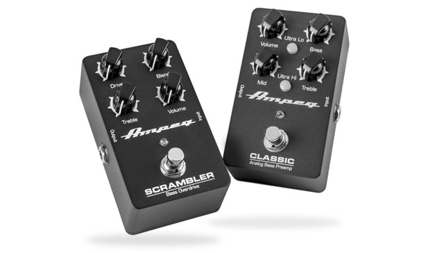 Ampeg Launch Analog Effects Pedals