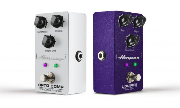 Ampeg Launch Analog Chorus and Optical Compressor