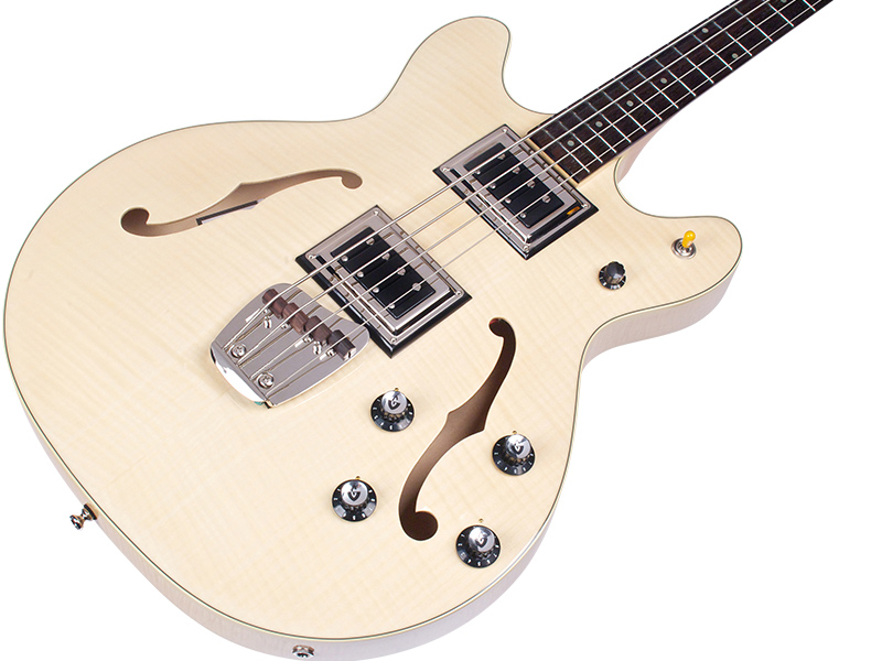 BASS OF THE WEEK: Guild Guitars Starfire Bass II Flamed Maple