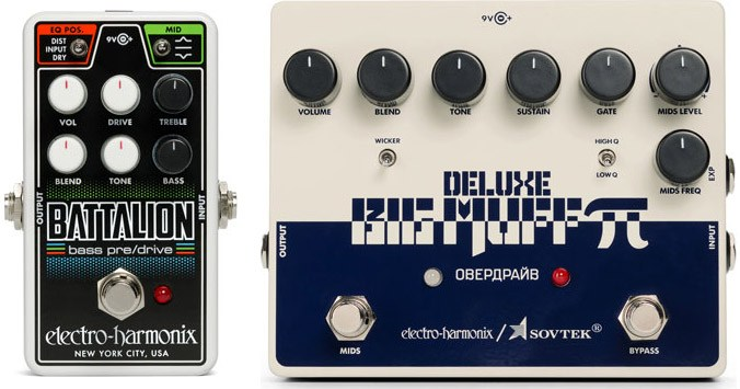 New releases from EHX