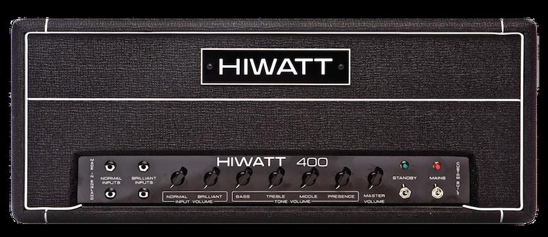 Hiwatt DR401 400w Bass Head